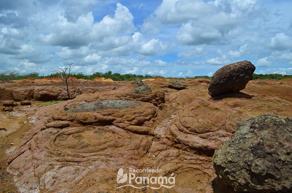 Rocas en Sarigua