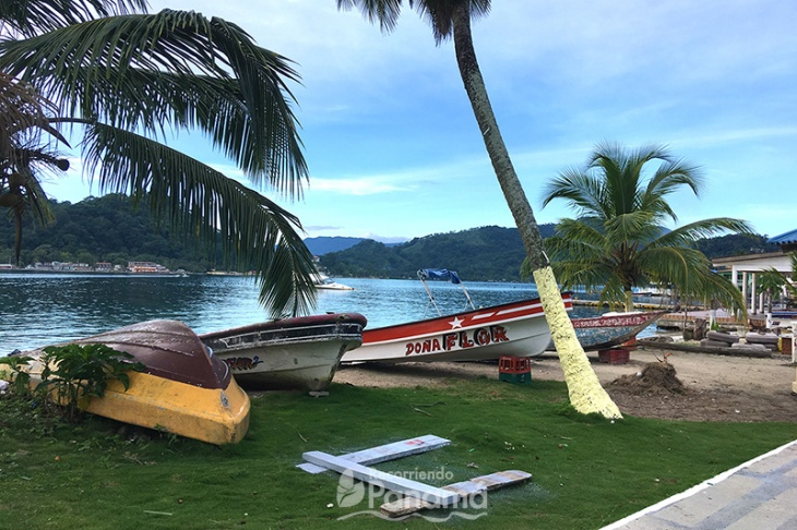 Vistas pintorescas de la Isla