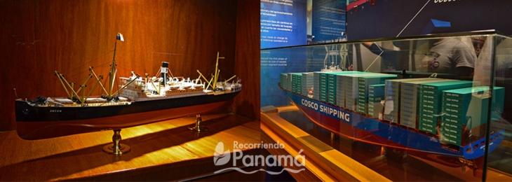 Barcos que hicieron historia en el Canal