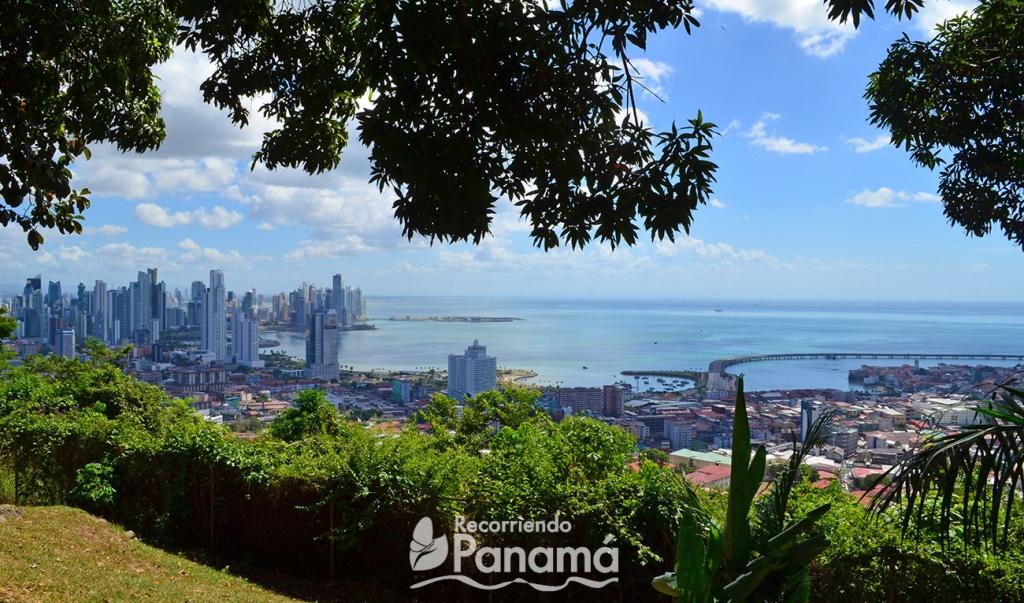 Vista de la Ciudad desde El Cerro Ancón.