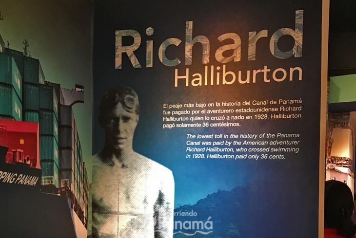 Richard Halliburton pago el peaje más bajo de la historia