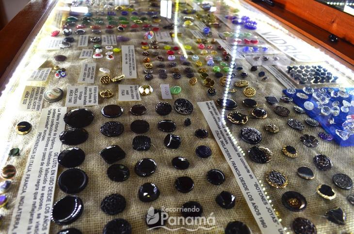 botones de vidrio