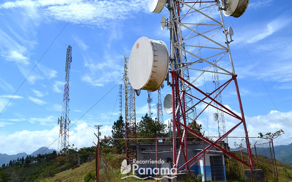 Las antenas.