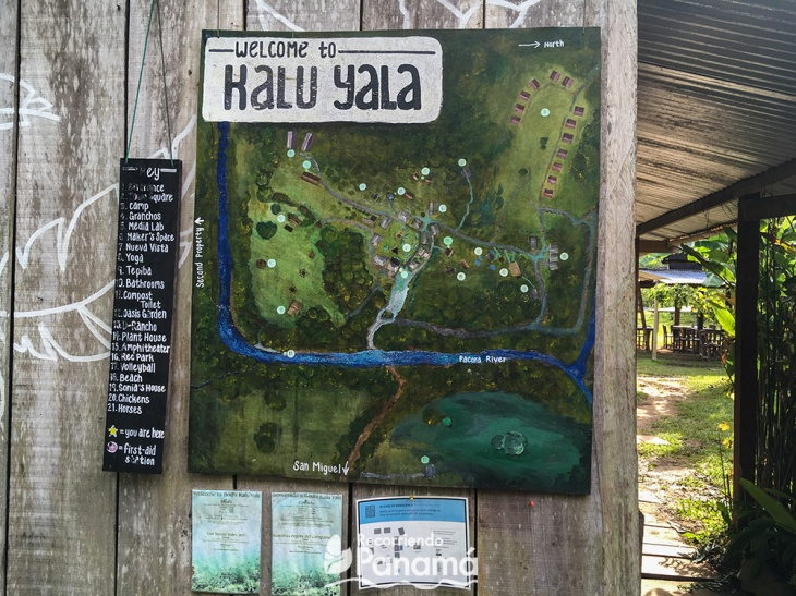 Mapa de Kalu Yala.