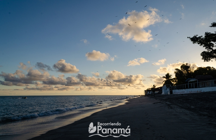 Atardecer en Isla Farallón