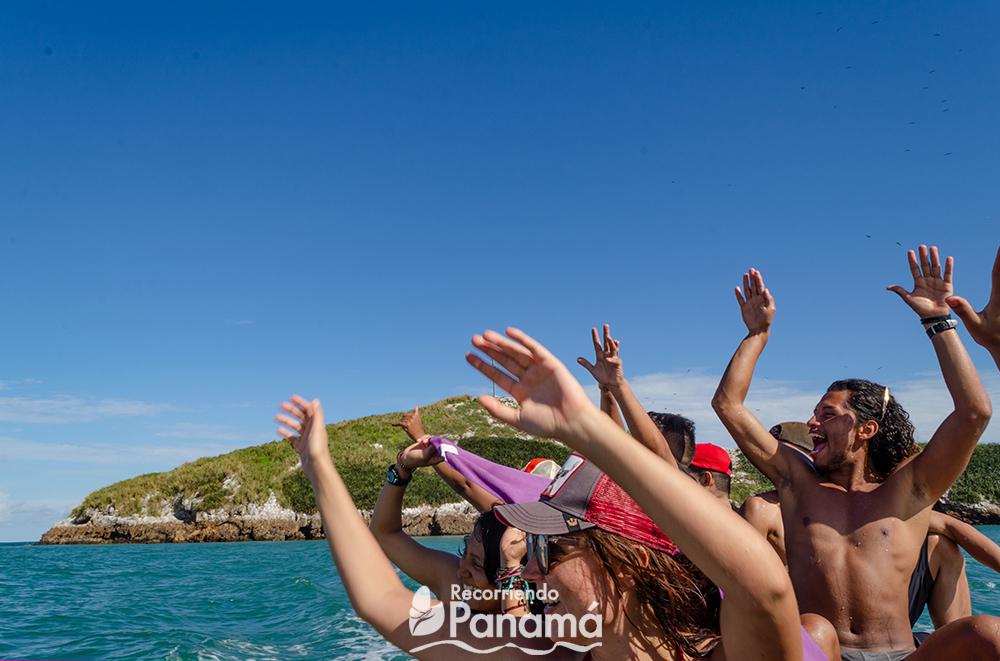 Diversión en Isla Farallón.