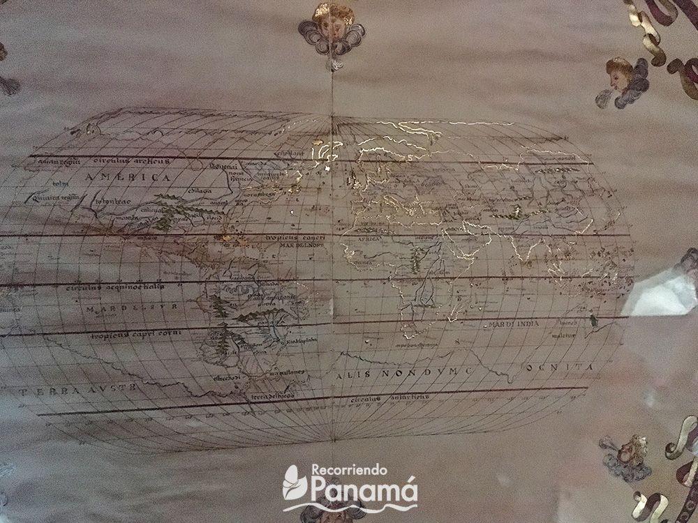 Mapamundi de 1587.