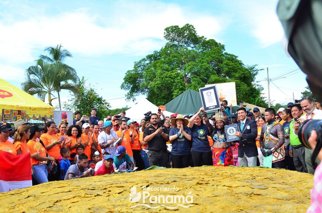 Guinness world record El patacón más grande.