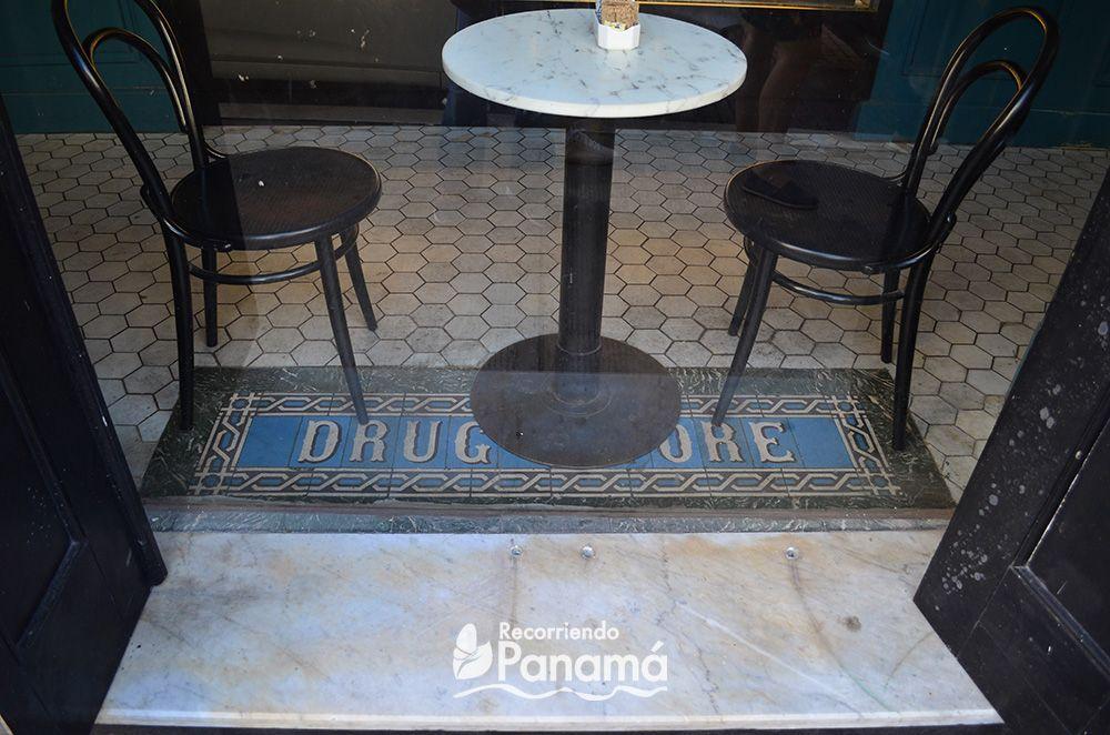 Drug store.