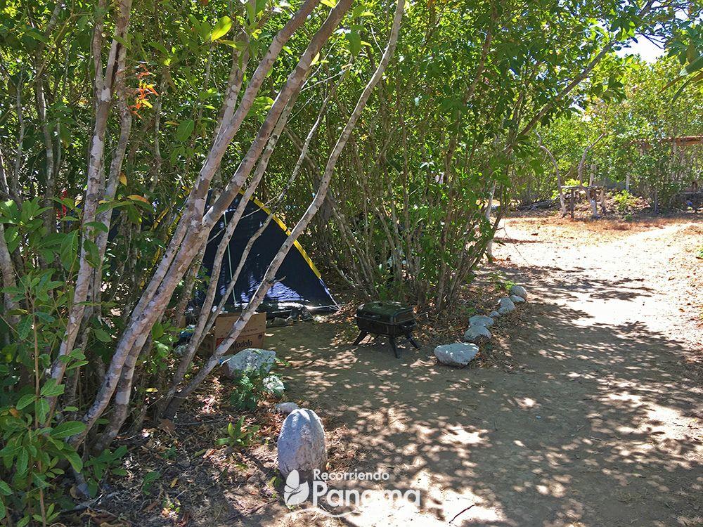 Área para camping - Los Chorros