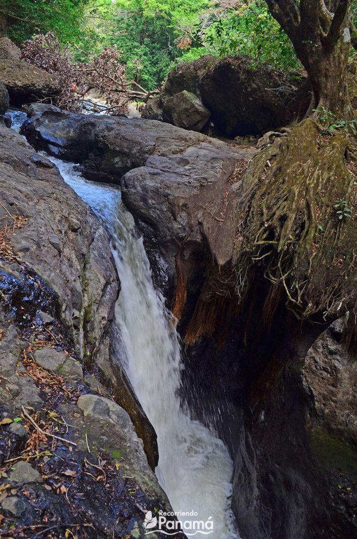 Segundo Chorro, vista río arriba.