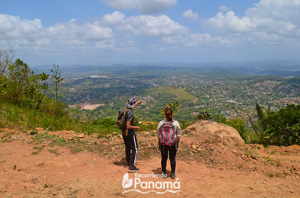 Vista hacia Arraiján desde Cerro Cabra.